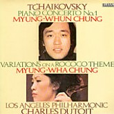 Myung-Whun Chung/Myung-Wha Chung : Tchaikovsky: Piano Concerto No.1, Variations On A Rococo Theme