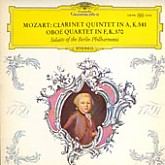 Karl Leister, Lothar Koch / Mozart: Clarinet Quintet in A/Oboe Quartet in F