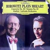 HOROWITZ /  MOZART;피아노협주곡 제23번, 소나타 제13번 -스칼라 가극장/GIULINI