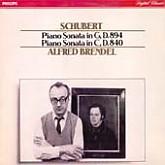 Alfred Brendel /  Schubert: Piano Sonata in D, 894/in C, D.840