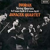 Janacek Quartet / Dvorak: String Quartets in F Major, Op.96 [America] & D Minor, Op.34