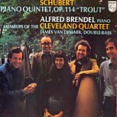 Alfred Brendel, Cleveland Quartet  / Schubert: Piano Quintet, Op.114 The Trout