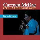 CARMEN McRAE / LIVE AT BIRDLAND WEST