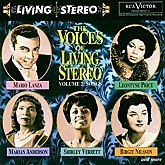 THE VOICES OF LIVING STEREO - VARIOUS