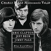 BLUE EYED BLUES - Eric Clapton, Jeff Beck, Jimmy Page