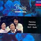 Chung Trio / Dvorak: Paino Trios No.1, 3   2lp